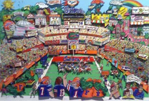 Go Go Gators, Florida 3-D 1995