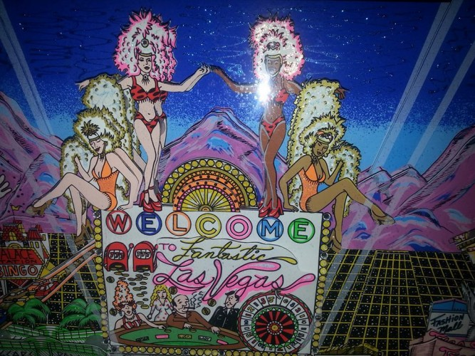 Welcome to Fabulous Las Vegas 3-D 1999 Embellished