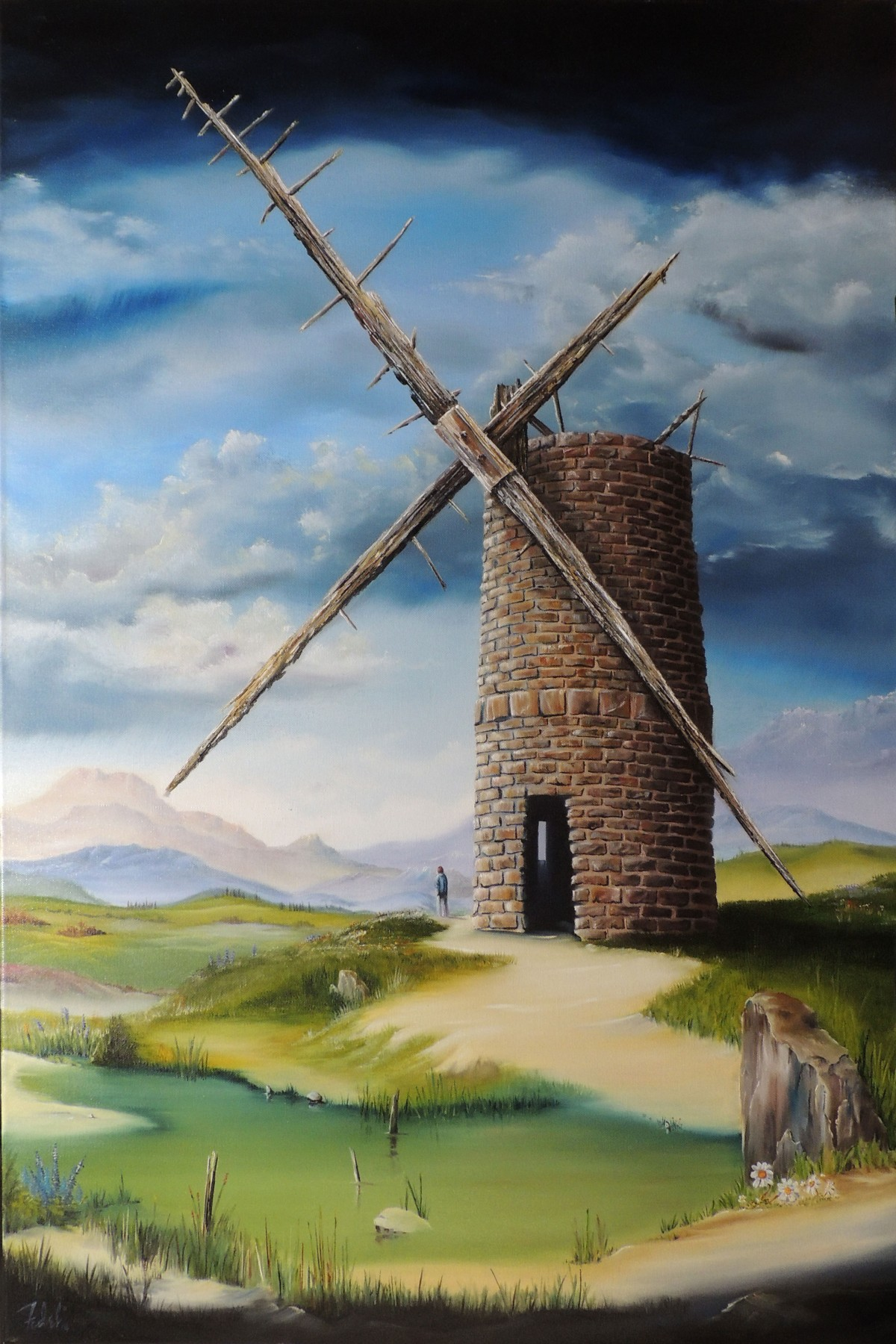 Highland Mill 2014 36x24