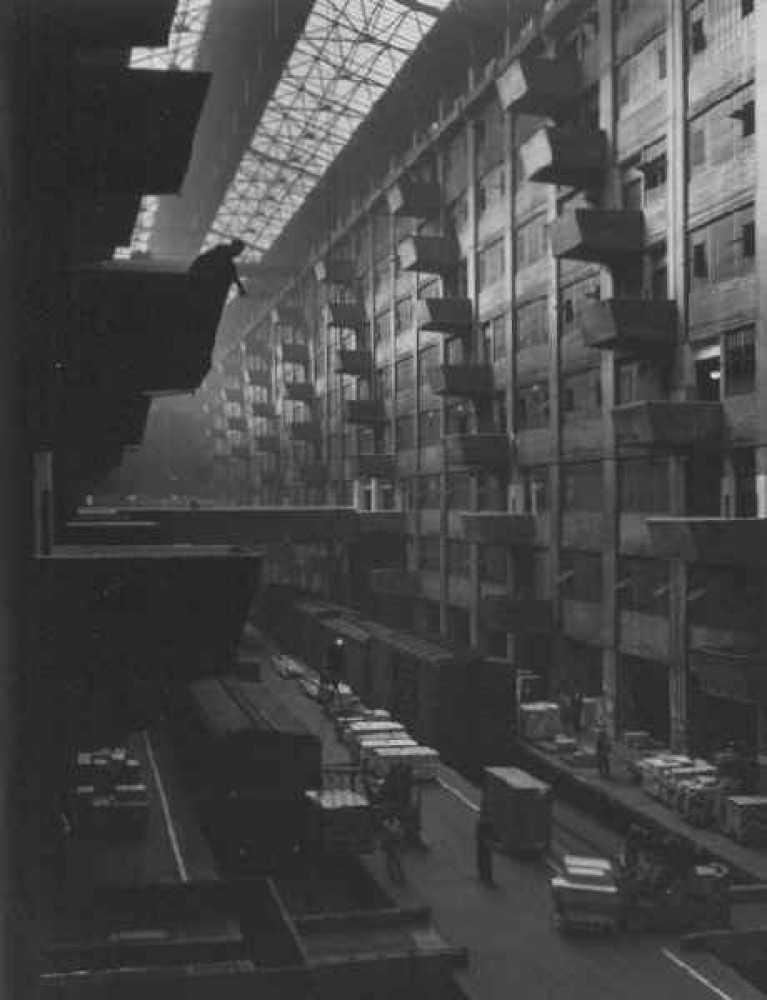 Warehouse Dock - Brooklyn 1948