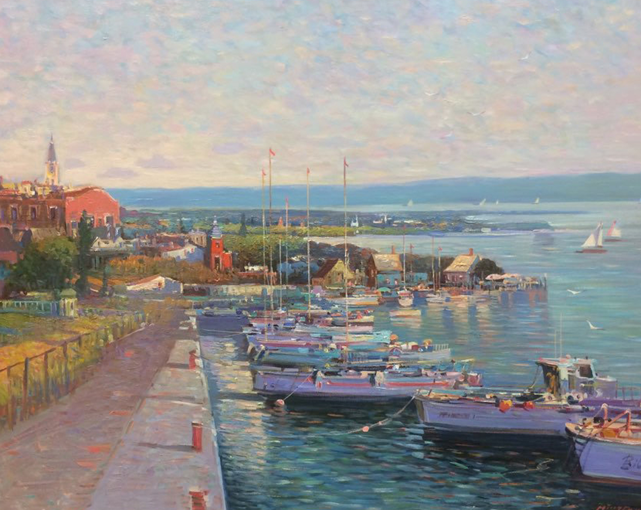 Twilight Quay 30x36