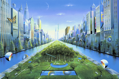 Journey to the Future 2002 40x60