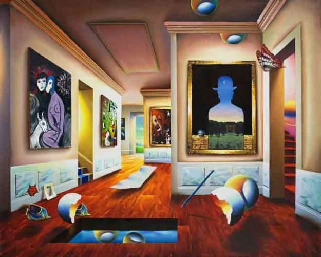 Interior With Magritte