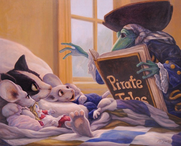Pirate Tales 1998 24x30