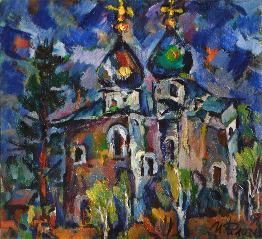 Church 1997 51x55 by Ivan Filichev