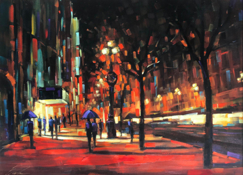 Timeless Moment 2006 46x58 by Michael Flohr