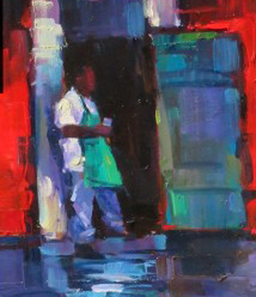 Coffee Break 2009 20x40