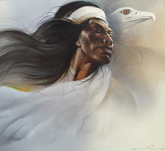 Flight of the Apache 1984 24x36