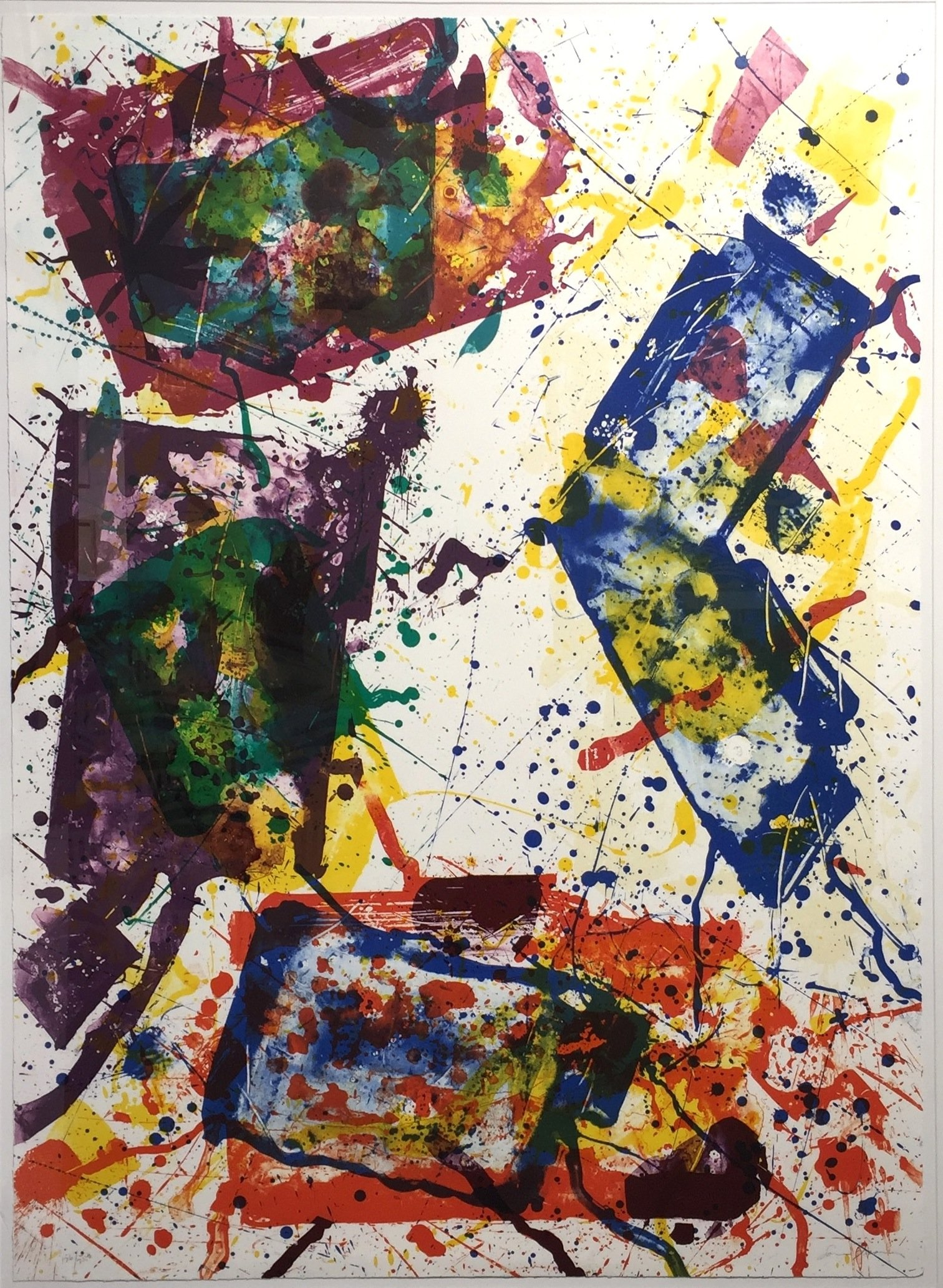Untitled (Lembark 269) 1982 by Sam Francis