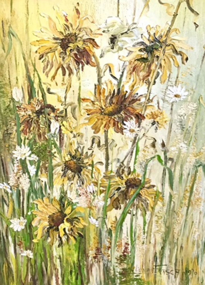 Sunflowers 1970 47x36