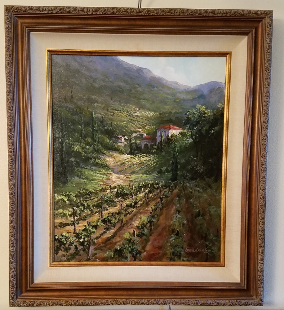 Tuscany Vineyard 2003 29x33