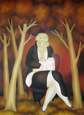 In the Meadow in the Wood 1979 48x36
