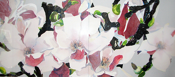 Japanese Magnolia  Diptych 1984