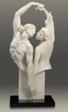 Dances Of Passion Parian Sculpture 2006 32 in
