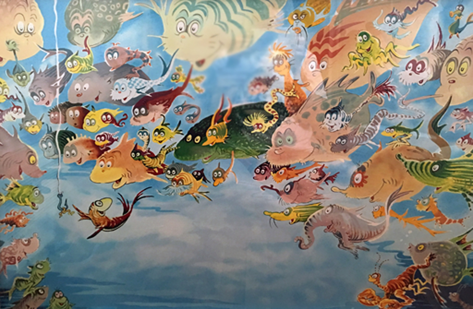 Dr seuss art for sale for Doctor fish for sale