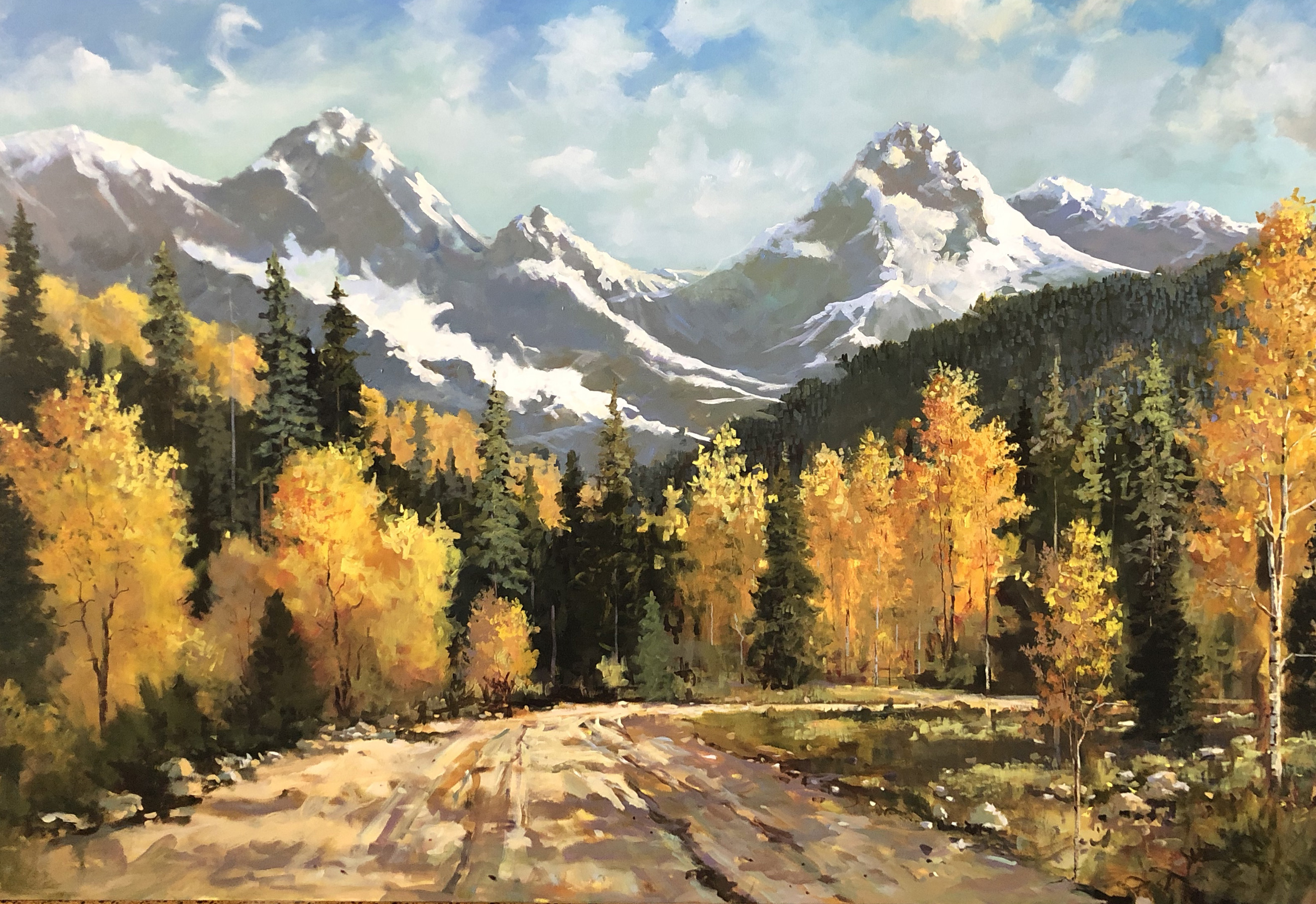 Colorado Autumn 2007 68x92