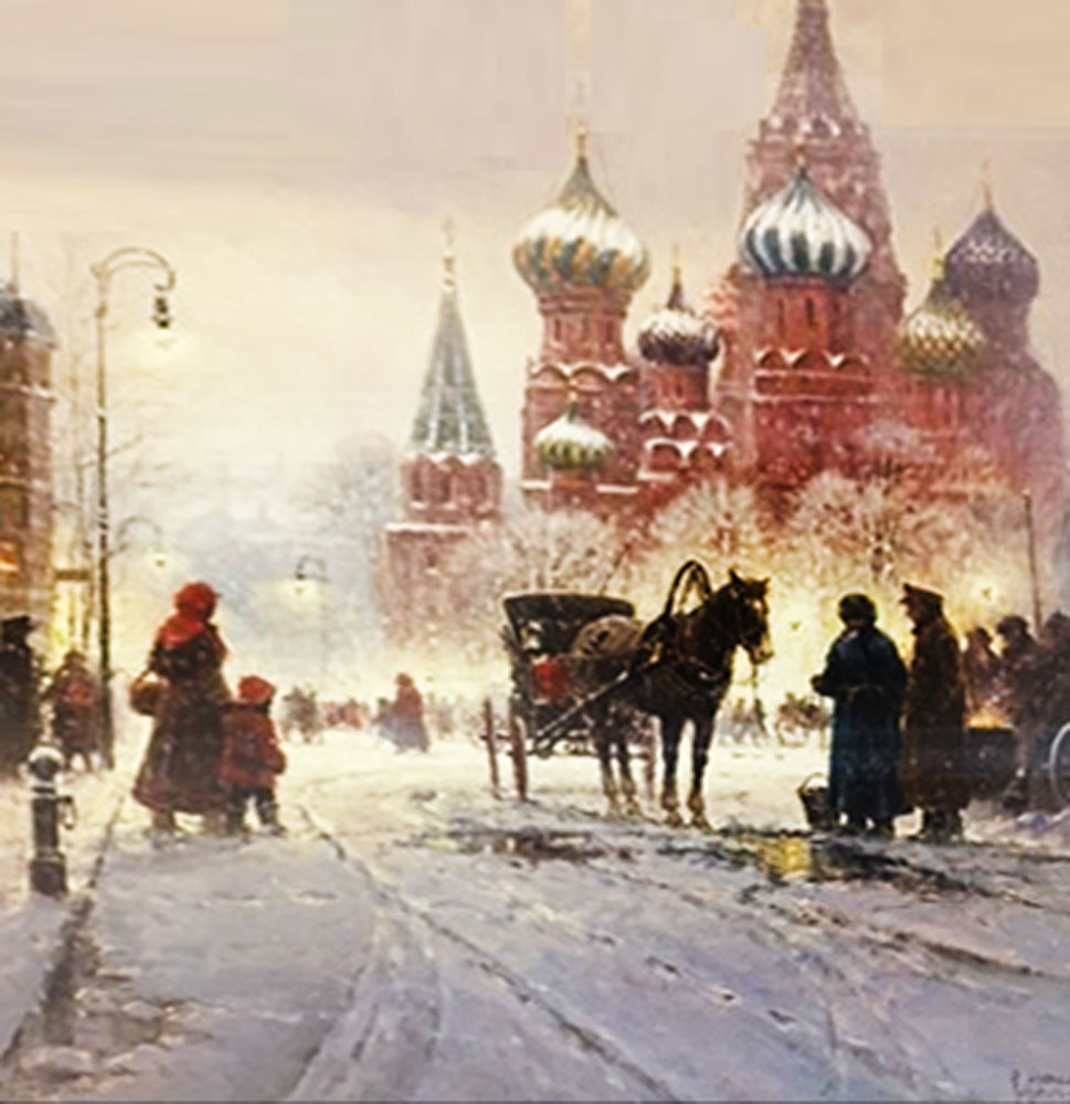 Cathedral of St. Basil-Red Square 1990