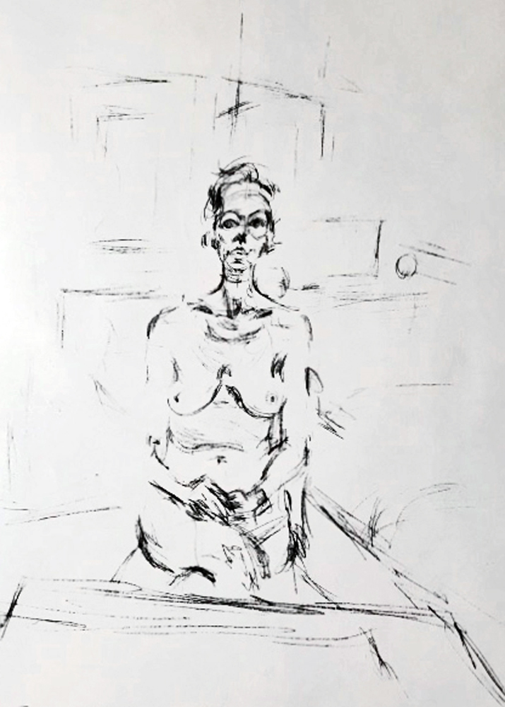 Seated Nude 1965