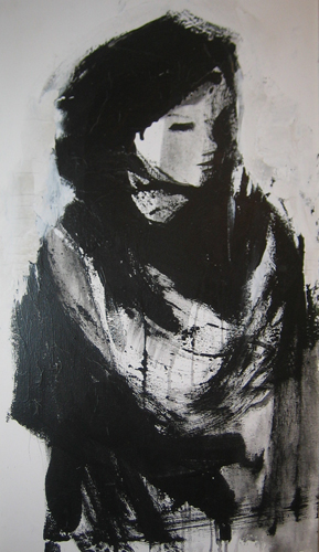 Untitled IV Woman 1980 49x25