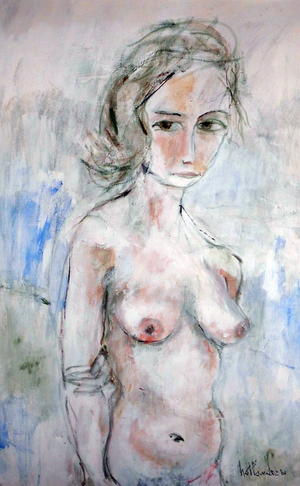 Untitled Nude 1961 40x28