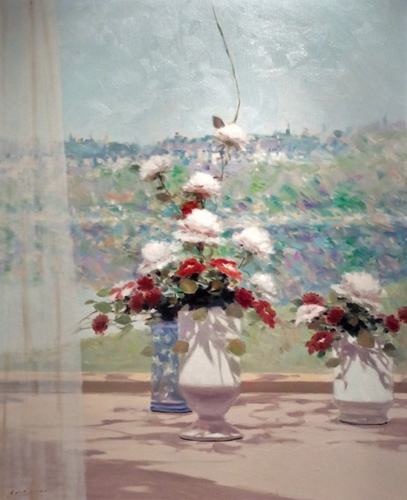 Untitled (Two Bouquets) 1988 37x31