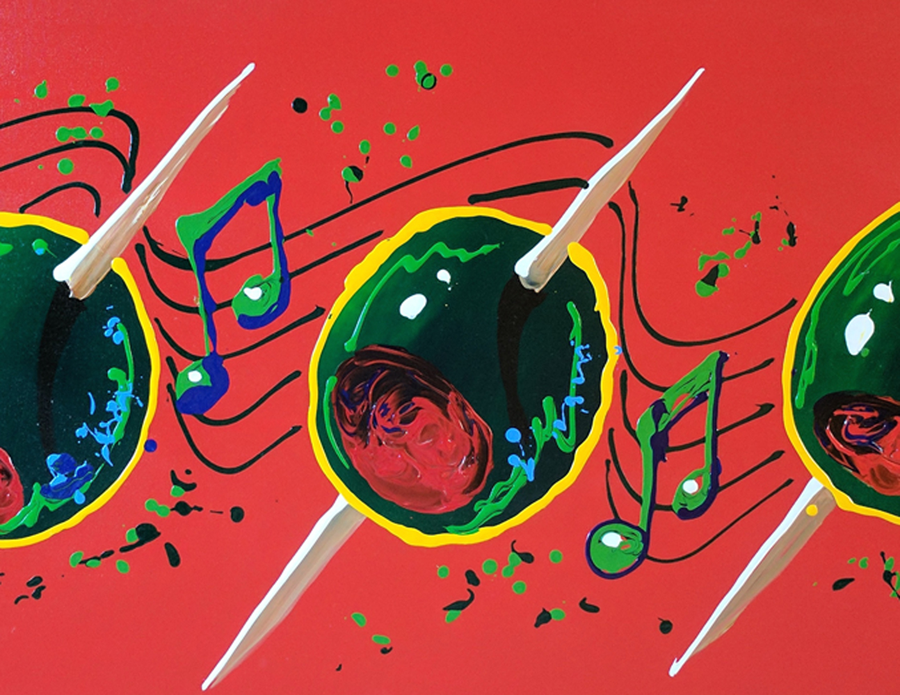 Musical Olives 30x60