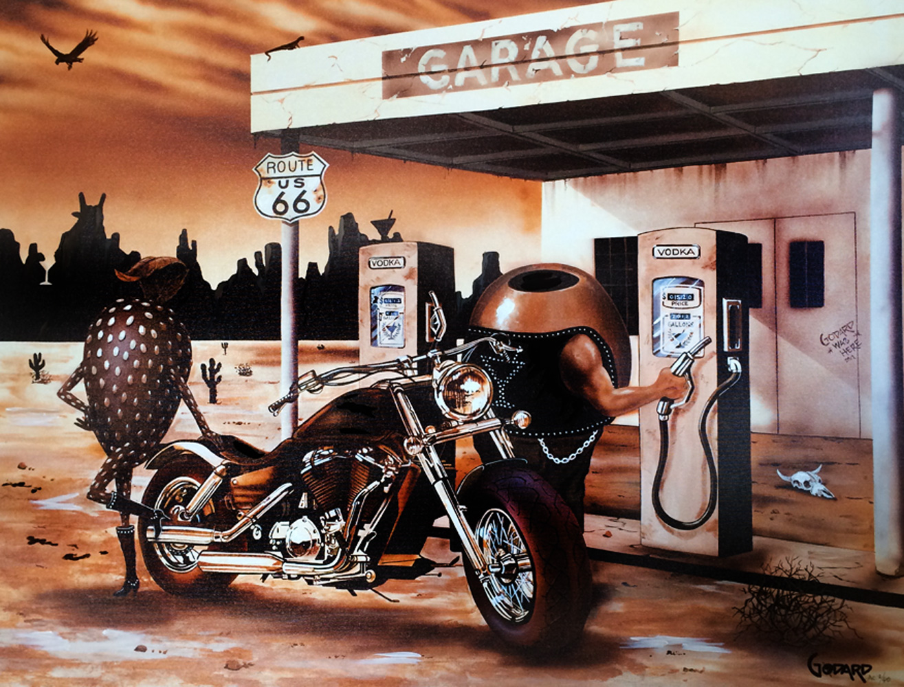 Historic Route 66 2012 Embellished