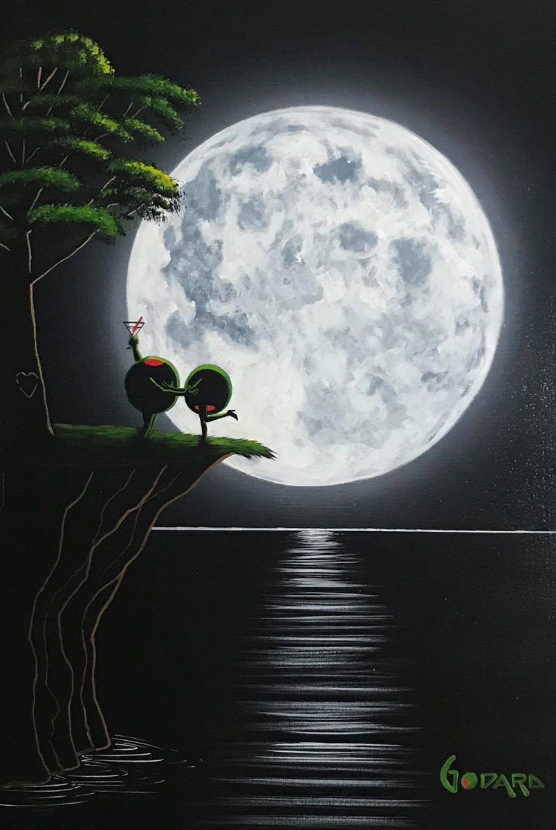Moonlight Love Tree 2015 34x28