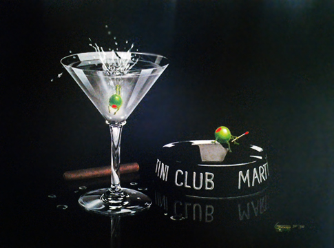 Martini Club 2003 Embellished