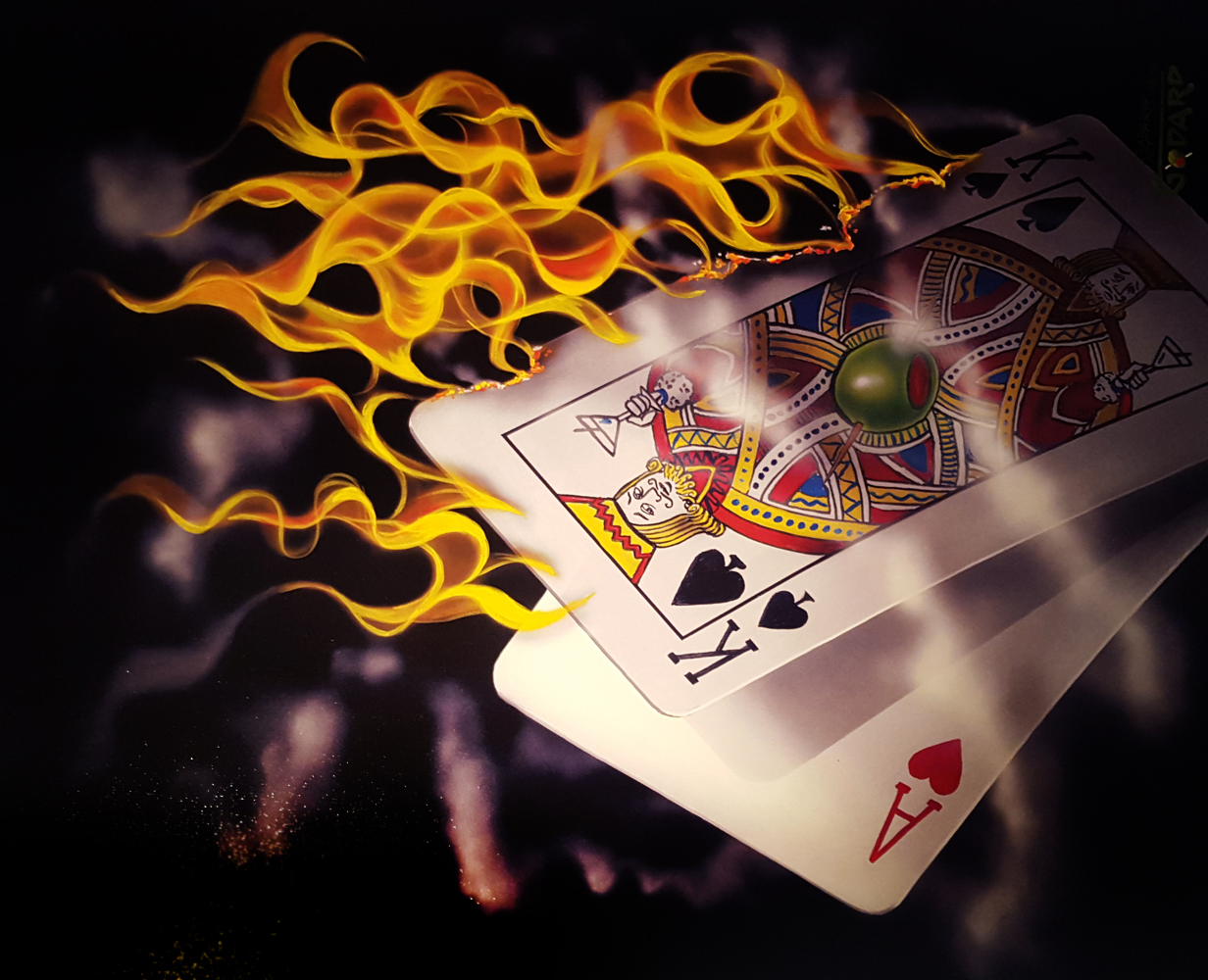 Burning Black Jack