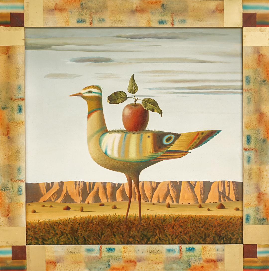Bird And Apple 2012 30x30