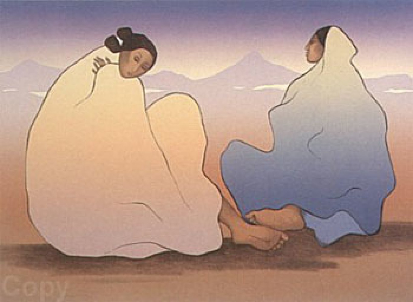 Painted Desert Women 1983