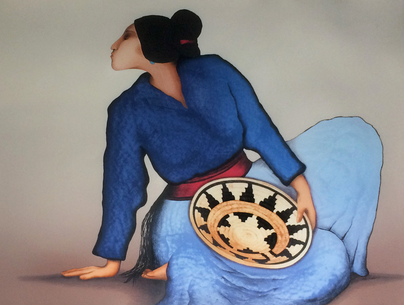 Woman With a Basket 1984