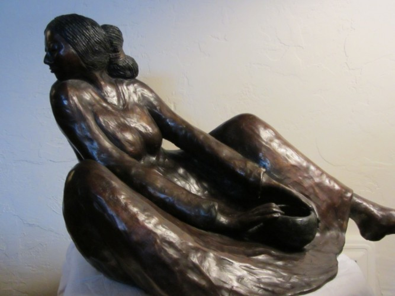 Winona Large Bronze Sculpture 1982 25 in