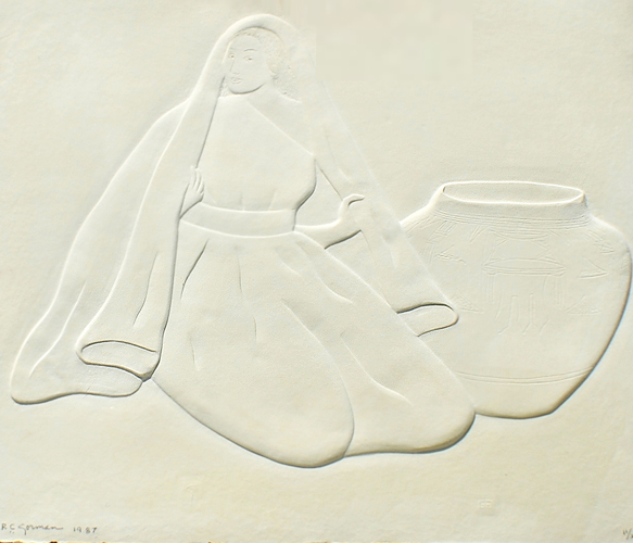 Untitled Cast Paper 1987