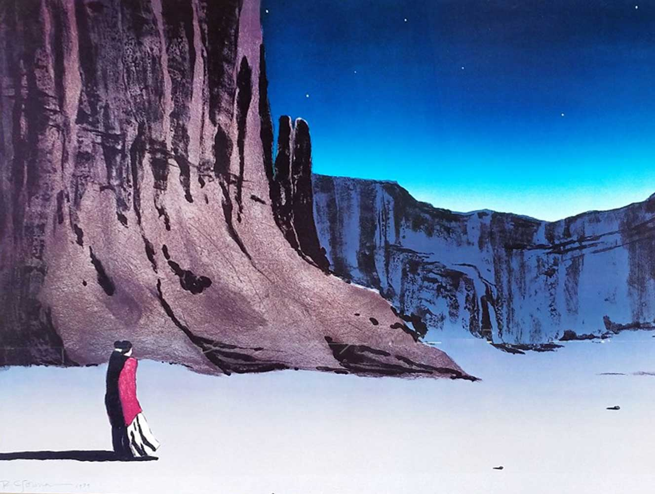 Canyon De Chelly (Night) 1979