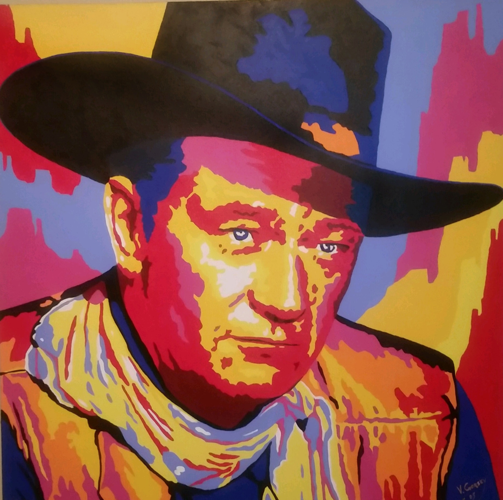 John Wayne Unique 2005 36x36