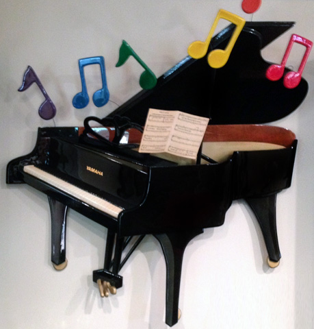 Piano Wood Sculpture 1985