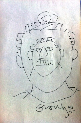 Inner Head Drawing 1985