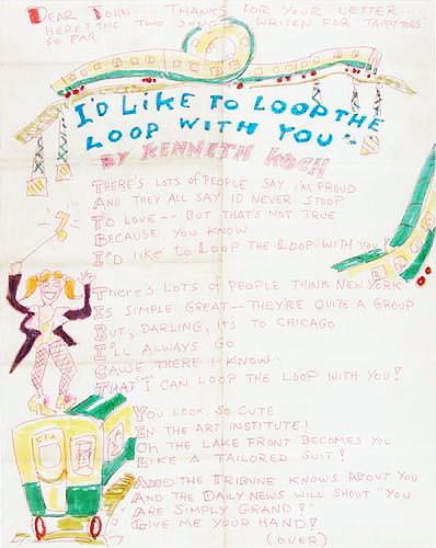I'd Like to Loop the Loop with You and Tappy Toes, Set of 2  Illustrated 1968 Lyrics