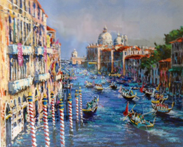 Grand Canal Venice 1994