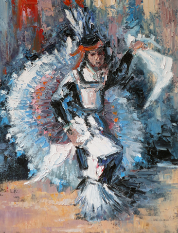 Ceremonial Dancer 25x21