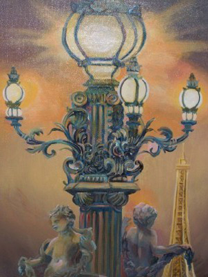 Paris, City of Lights 2010 28x22