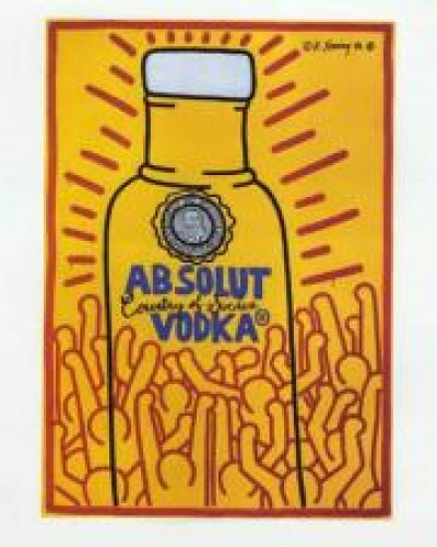 Absolut Vodka Poster 1986