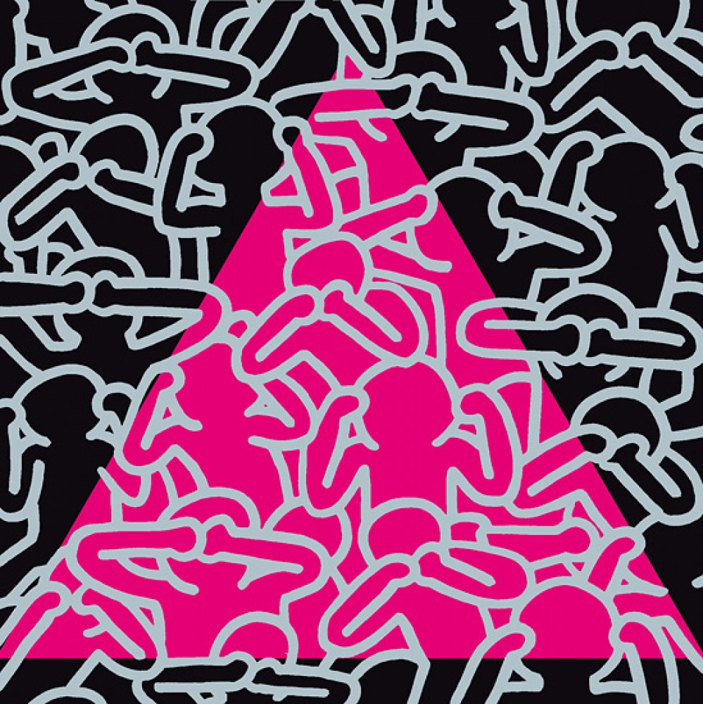 Silence = Death 1989 by Keith Haring