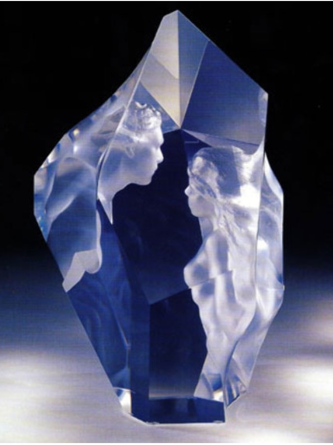 Prologue Lucite Sculpture 2000