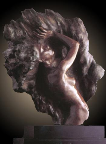 Fragment 7 Bronze Sculpture 2004