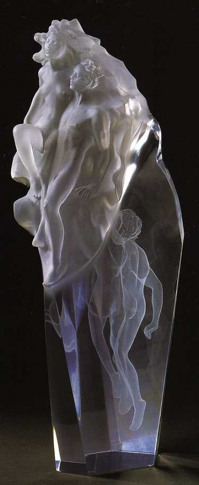 Born of Light Acrylic Sculpture 2004