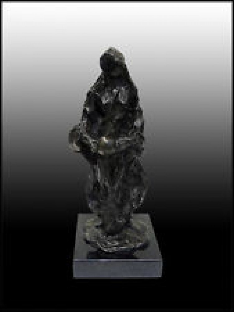 Source Maquette Bronze Sculpture 2006 12 in