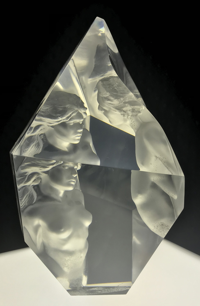 Prologue  Acrylic Sculpture 2000 12 in